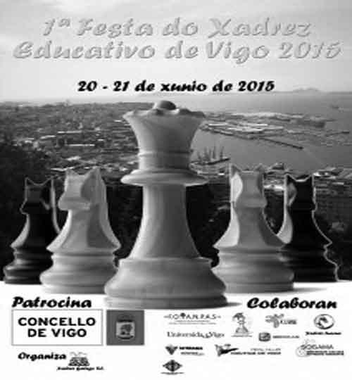1ª Festa do Xadrez Educativo de Vigo 2015