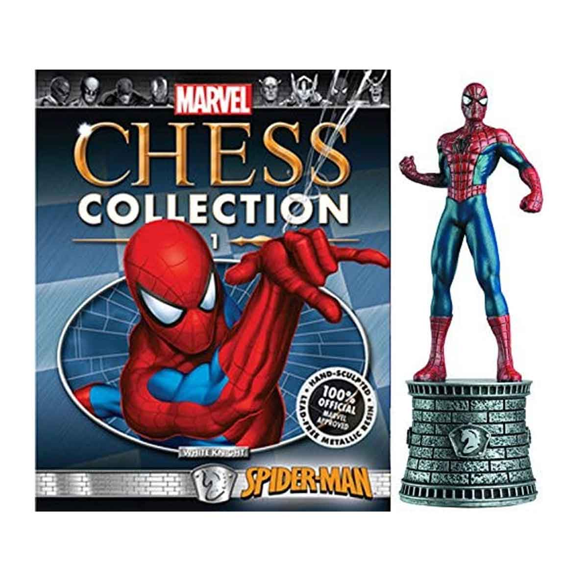 Marvel Chess Figurine Collection Nº 1 Spiderman