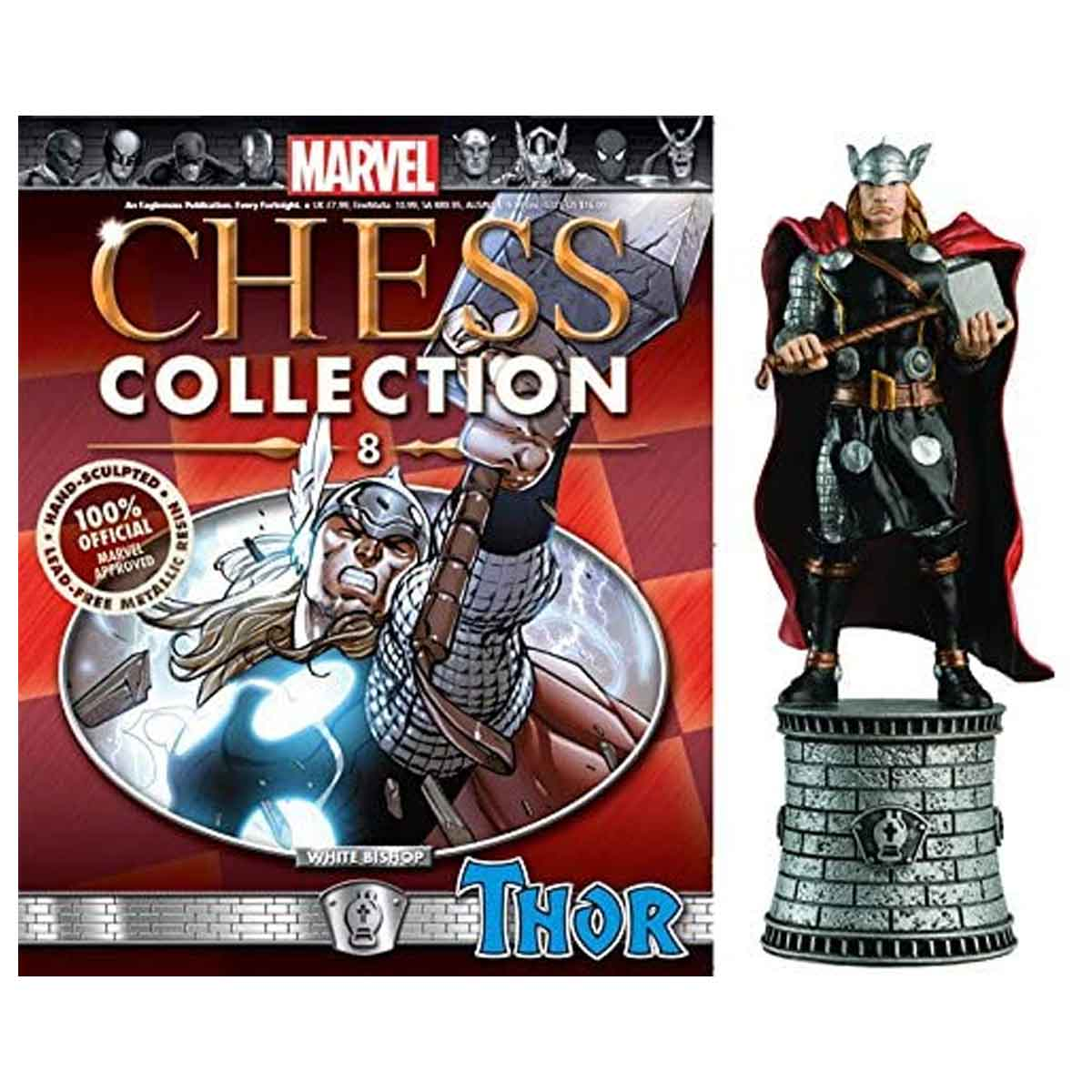 Marvel Chess Figurine Collection Nº 8 Thor