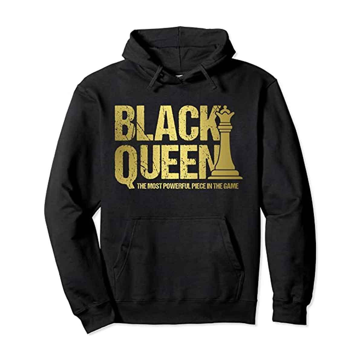 Sudadera Black Queen