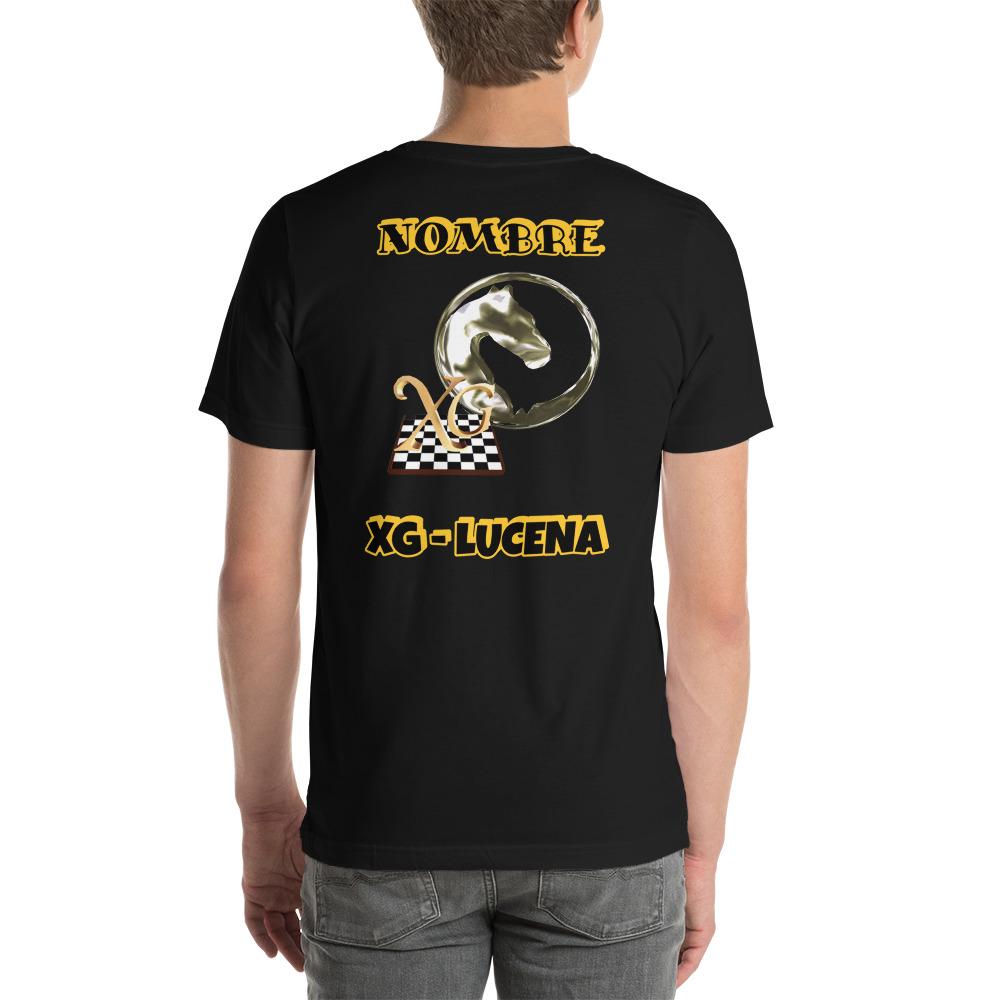 Camiseta unisex Xadrez-Lucena Nombre