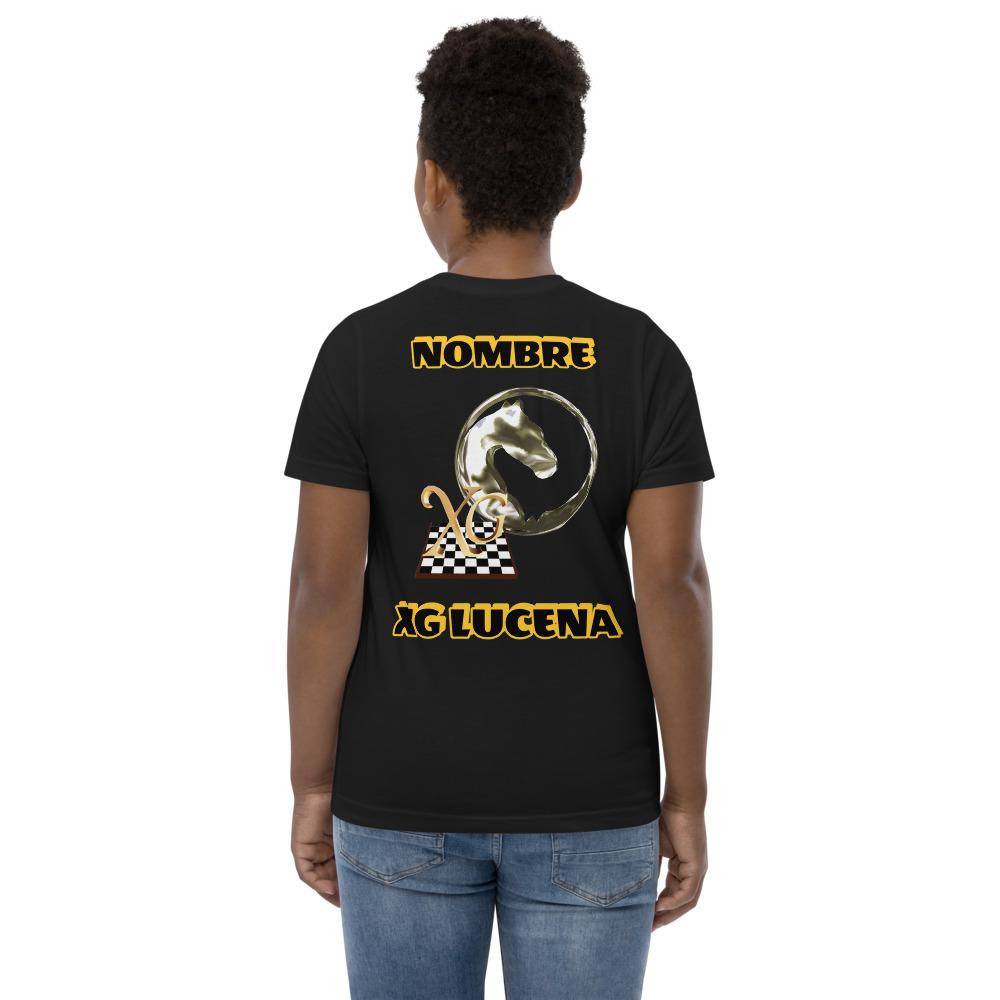 Camiseta juvenil Xadrez-Lucena Nombre
