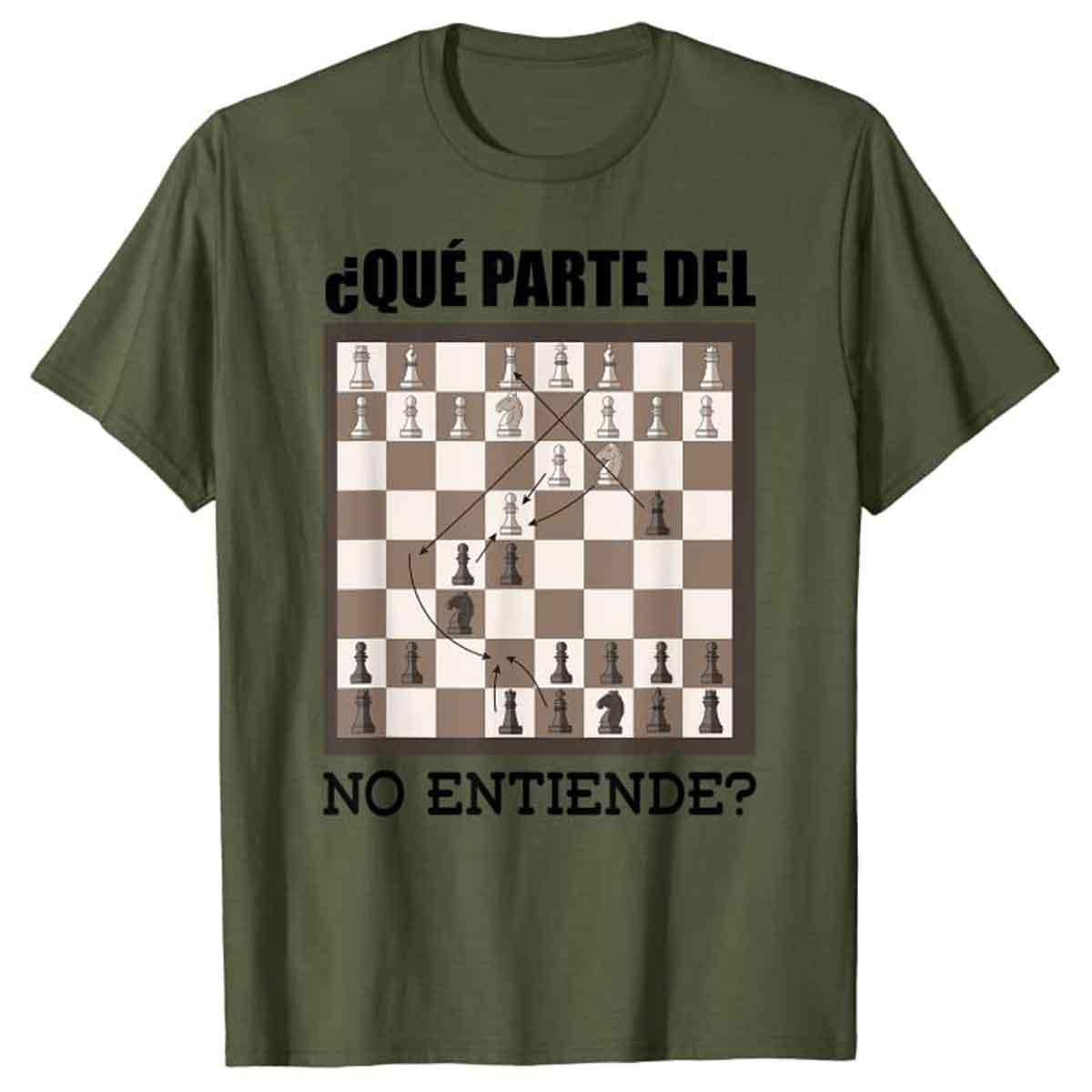 Camiseta Ajedrecista